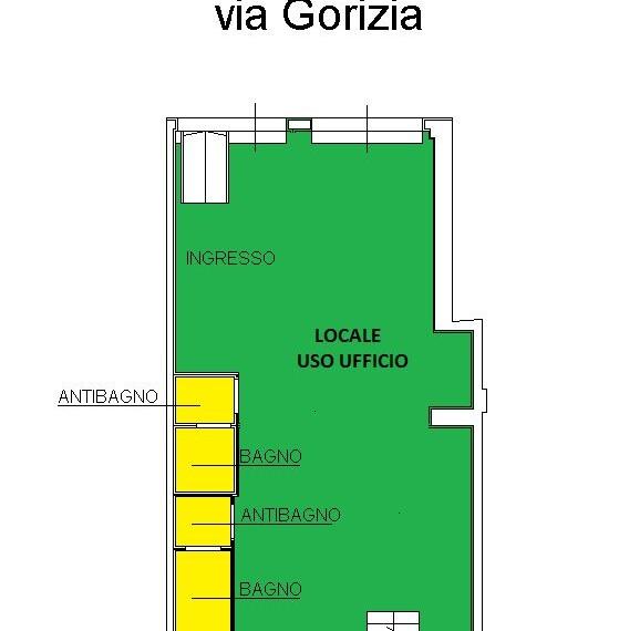 Piantina Via Gorizia